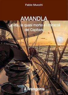 Amandla. La vita, la quasi morte e i miracoli del Capitano - Fabio Mucchi - copertina