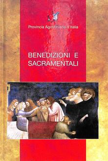 Benedizioni e sacramentali - copertina