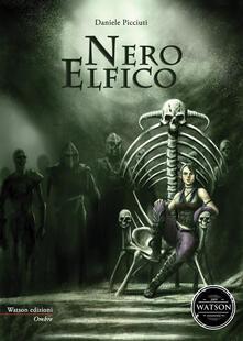 Nero elfico - Daniele Picciuti - copertina