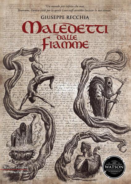 Maledetti dalle fiamme - Giuseppe Recchia - copertina