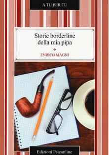 Storie borderline della mia pipa - Enrico Magni - copertina