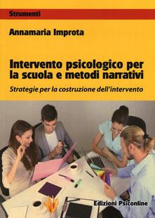 Voluntariadobaleares2014.es Intervento psicologico per la scuola e metodi narrativi. Strategie per la costruzione dell'intervento Image