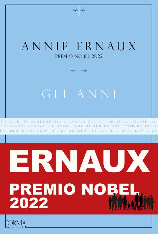 Gli anni - Annie Ernaux - copertina