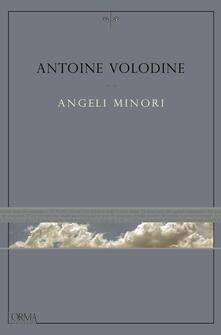 Angeli minori - Antoine Volodine - copertina