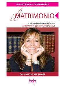Gli ostacoli al matrimonio - Annamaria Bernardini De Pace - ebook