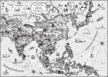 Letterarioprimopiano.it Asia. Coloring maps Image