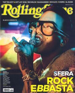 Rivista Rolling Stone. Numero 1, Gennaio 2018