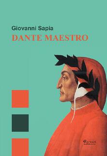 Dante maestro - Giovanni Sapia - copertina