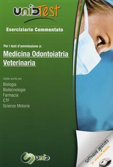 Lpgcsostenible.es UnidTest 1. Eserciziario commentato per i test di ammissione a medicina, odontoiatria e veterinaria. Con software di simulazione Image