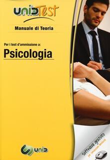 Antondemarirreguera.es UnidTest 6. Manuale di teoria-Glossario per psicologia. Manuale di teoria per i test di ammissione... Con software di simulazione Image