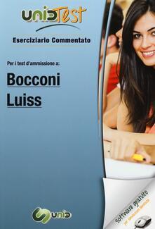 Vitalitart.it UnidTest 4. Eserciziario commentato per Bocconi e Luiss. Eserciziario commentato per i test di ammissione... Con software di simulazione Image