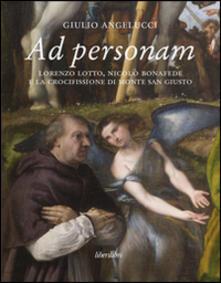 Listadelpopolo.it Ad personam. Lorenzo Lotto, Nicolò Bonafede e la crocifissione di Monte San Giusto Image