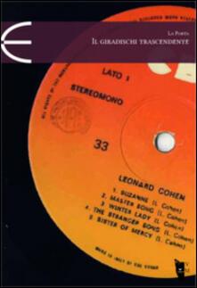 Il giradischi trascendente - Salvatore La Porta - copertina