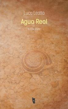 Agua real - Luca Leotta - copertina