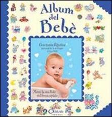 Album del bebé (bambino). Con adesivi - copertina