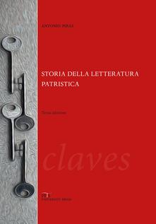 Osteriacasadimare.it Storia della letteratura patristica. Dalle origini ad Agostino Image