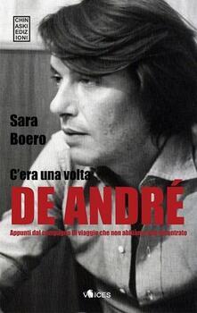 C'era una volta De André - Sara Boero - copertina