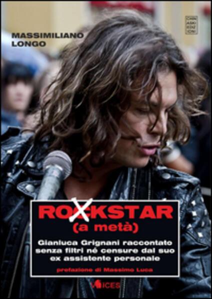 Rockstar (a metà) - Massimiliano Longo - copertina