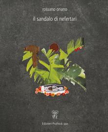 Il sandalo di Nefertari - Rossano Onano - copertina