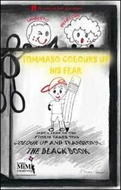 Tommaso colours up his fear. The coloured book of emotions