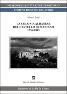 Premioquesti.it La colonia albanese del castello di Pianiano Image