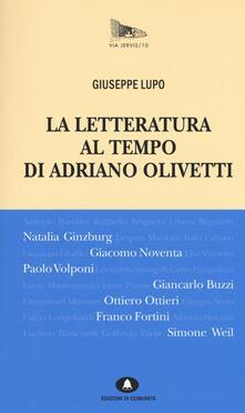 Ipabsantonioabatetrino.it La letteratura al tempo di Adriano Olivetti Image