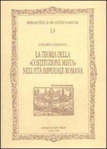 La teoria della Costituzione mista nell'età imperiale romana