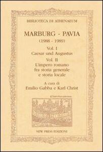 Marburg-Pavia (1988-1989). Ediz. italiana e tedesca