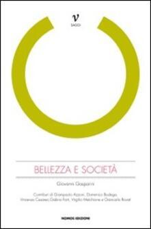 Bellezza e società - Gianni Gasparini - copertina