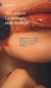 La memoria delle libellule - Marica Bodrozic - copertina