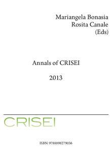 Annals of CRISEI 2013.pdf