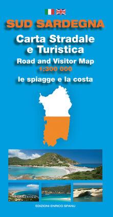 Cartina Stradale Sardegna Pdf.Sud Sardegna Carta Stradale E Turistica Le Spiagge E La Costa 1 300 000 Pdf Gratis Pdf Feed