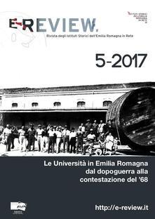 Promoartpalermo.it E-Review. Rivista degli Istituti Storici dell'Emilia Romagna in Rete (2017). Vol. 5: Università in Emilia Romagna dal dopoguerra alla contestazione del '68, Le. Image