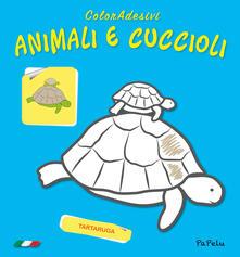 Animali e cuccioli. Coloradesivi. Ediz. illustrata.pdf
