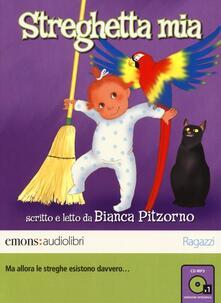 Daddyswing.es Streghetta mia letto da Bianca Pitzorno. Audiolibro. CD Audio formato MP3. Ediz. integrale Image