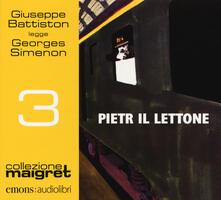 Camfeed.it Pietr il Lettone letto da Giuseppe Battiston. Audiolibro. CD Audio formato MP3 Image