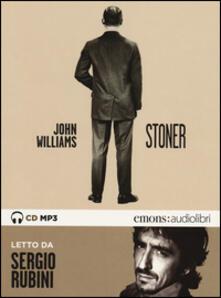 Stoner letto da Sergio Rubini. Audiolibro. CD Audio formato MP3 - John Edward Williams - copertina