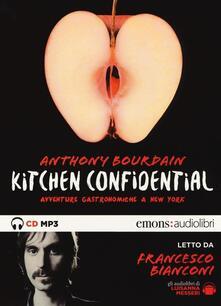 Winniearcher.com Kitchen confidential. Avventure gastronomiche a New York letto da Francesco Bianconi. Audiolibro. CD Audio formato MP3. Ediz. integrale Image
