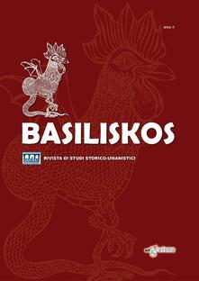 Daddyswing.es Basiliskos. Rivista di studi storico-umanistici. Vol. 2 Image