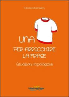Vitalitart.it Una maglietta per arricchire la frase. Situazioni topologiche Image