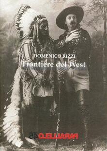 Frontiere del West - Domenico Rizzi - copertina