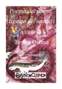 Voluntariadobaleares2014.es Cantico dei cantici. Versione filologica del libro della Bibbia Image