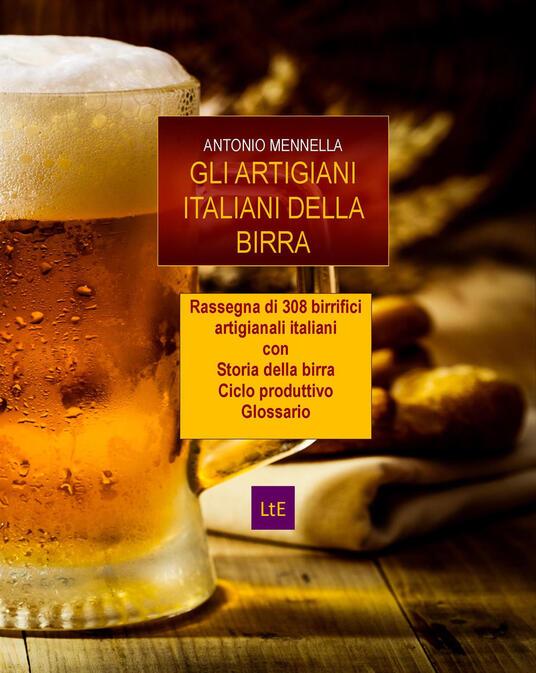 Gli artigiani italiani della birra - Antonio Mennella - copertina