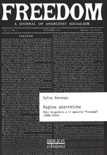 Warholgenova.it Pagine anarchiche. Petr Kropotkin e il mensile «Freedom» (1886-1914) Image