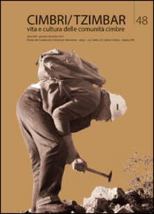 Ilmeglio-delweb.it Cimbri-Tzimbar. Vita e culture delle comunità cimbre. Vol. 48 Image