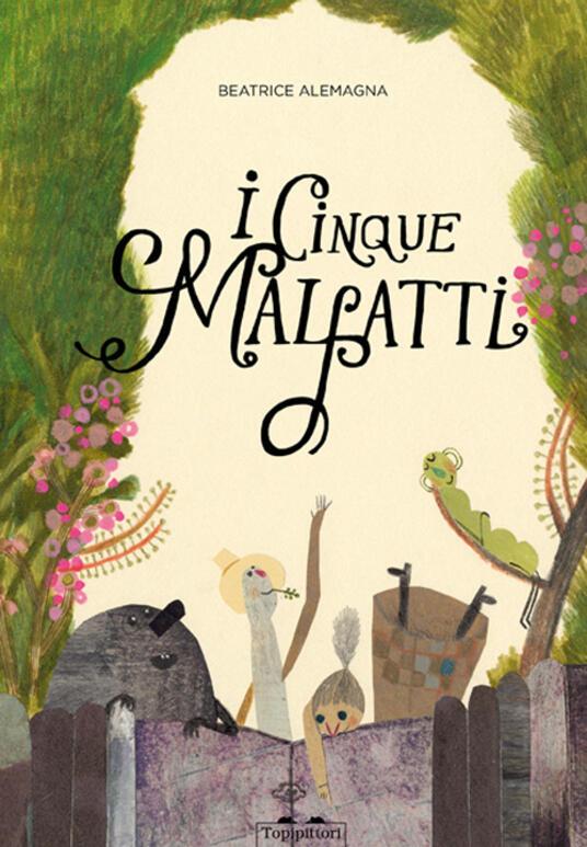 I cinque malfatti - Beatrice Alemagna - copertina