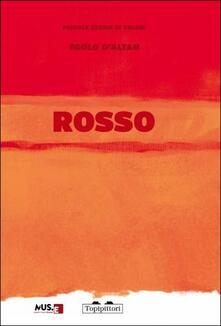 Rosso: piccole storie di colori. Ediz. italiana e inglese - copertina