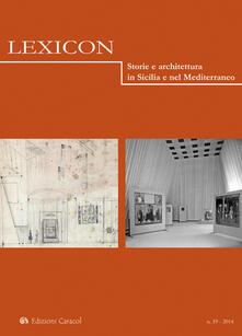 Associazionelabirinto.it Lexicon. Storie e architettura in Sicilia e nel Mediterraneo. Vol. 19 Image