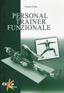 Personal trainer funzionale - Flauto Calle - copertina
