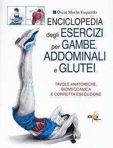 Cefalufilmfestival.it Enciclopedia degli esercizi per gambe, addominali e glutei. Tavole anatomiche, biomeccanica e corretta esecuzione Image